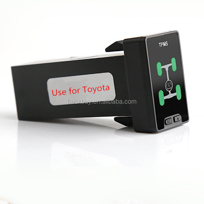 Newest Smart OBD TPMS Tire Pressure Monitoring AT Lock System Replace Tire sensors For Toyota Camry Corolla RAV4