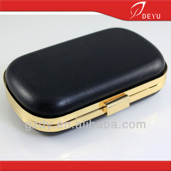 16.5*9.5cm- Metal Box Clutch Bag Frame With Platic Box - Buy Clutch ...