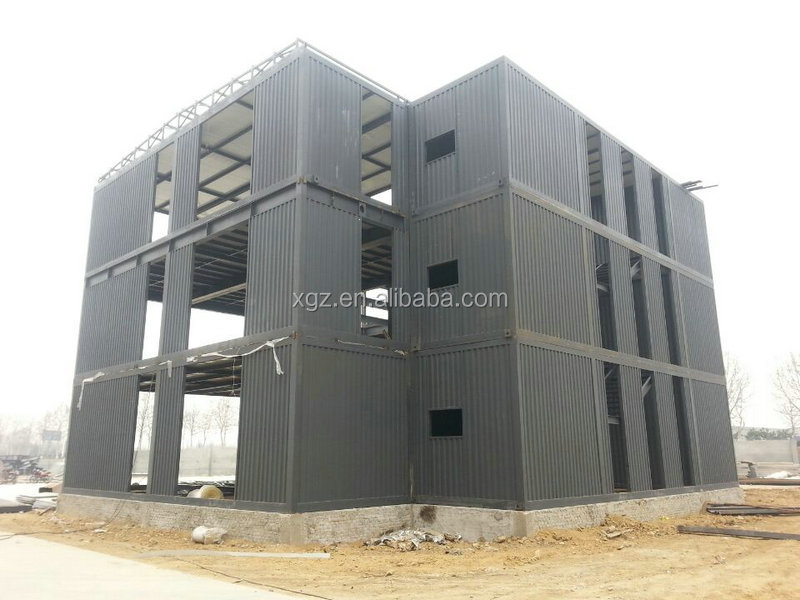 cheap easy assembly a frame modular homes for container office