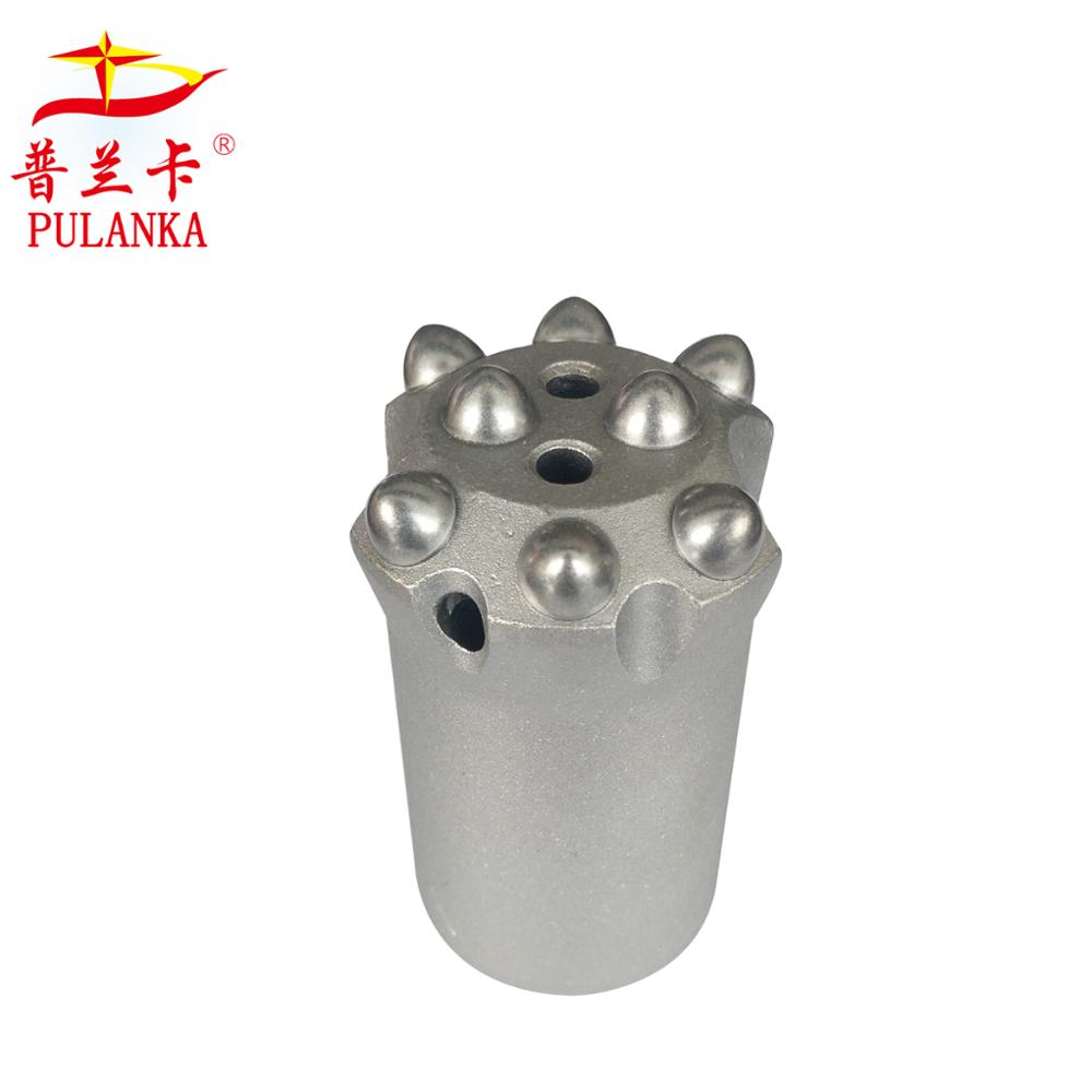 40mm 8 botões 7 graus Quarrying afilado Rock Drilling Bit