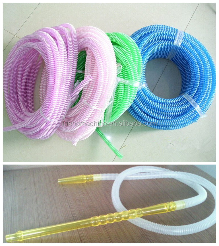 pvc snake hookah plastic hose extruding making machine price