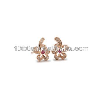 Sparkle Gl Gold Earring Designs For Women Fancy Stone