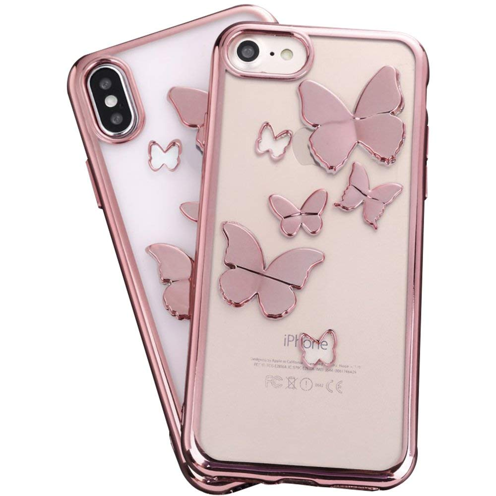 Buy Rose Gold Mirror Iphone 6s Case For Girls Umiko Tm Clear