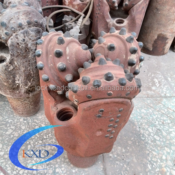 Oil and water well drilling bit scrap