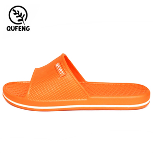 Latest Factory Direct Discount Custom Logo Eva Plastic Slippers Wholesale From China
