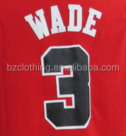 Dwyane Wade #3 Chicago Red Stitched National Basketball Jersey