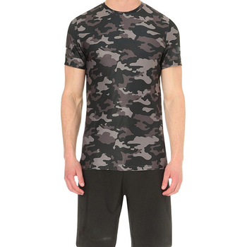 Wholesale sublimation printed polyester t-shirts custom no minimum t shirt camouflage
