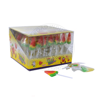 Handmade Watermelon Shaped Hard Sweet Lollipop Candy