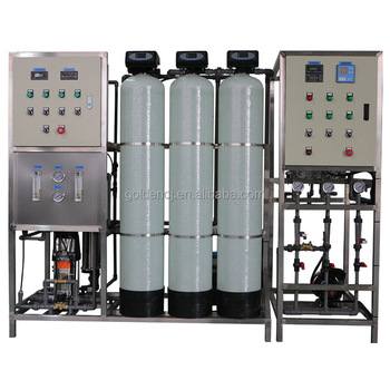 1000LPH Reverse Osimosis High Purity Process Water EDI Plant