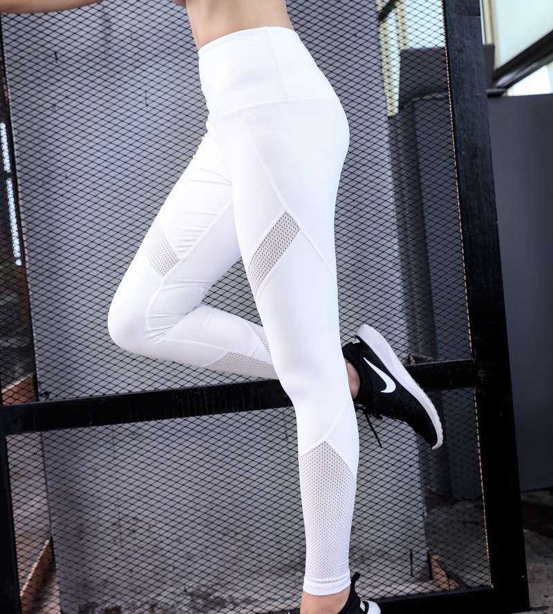 Women's Outdoor Slim Elastic Compression Fitness Tight Exercise Leggings