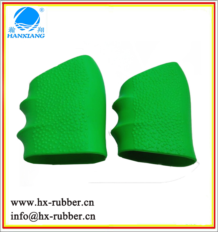 Customized mold silicon rubber tool handle/grip for fitness