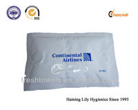 high quality disposable OEM ODM Airline single wet wipes