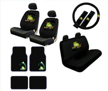 Fantastic New 17Pcs Set Green Tree Frog Car Front Rear Seat Covers And Carpet Floor Mats Buy Pink Leather Car Seat Covers Car Seat Covers Fashional Car Seat Caraccident5 Cool Chair Designs And Ideas Caraccident5Info