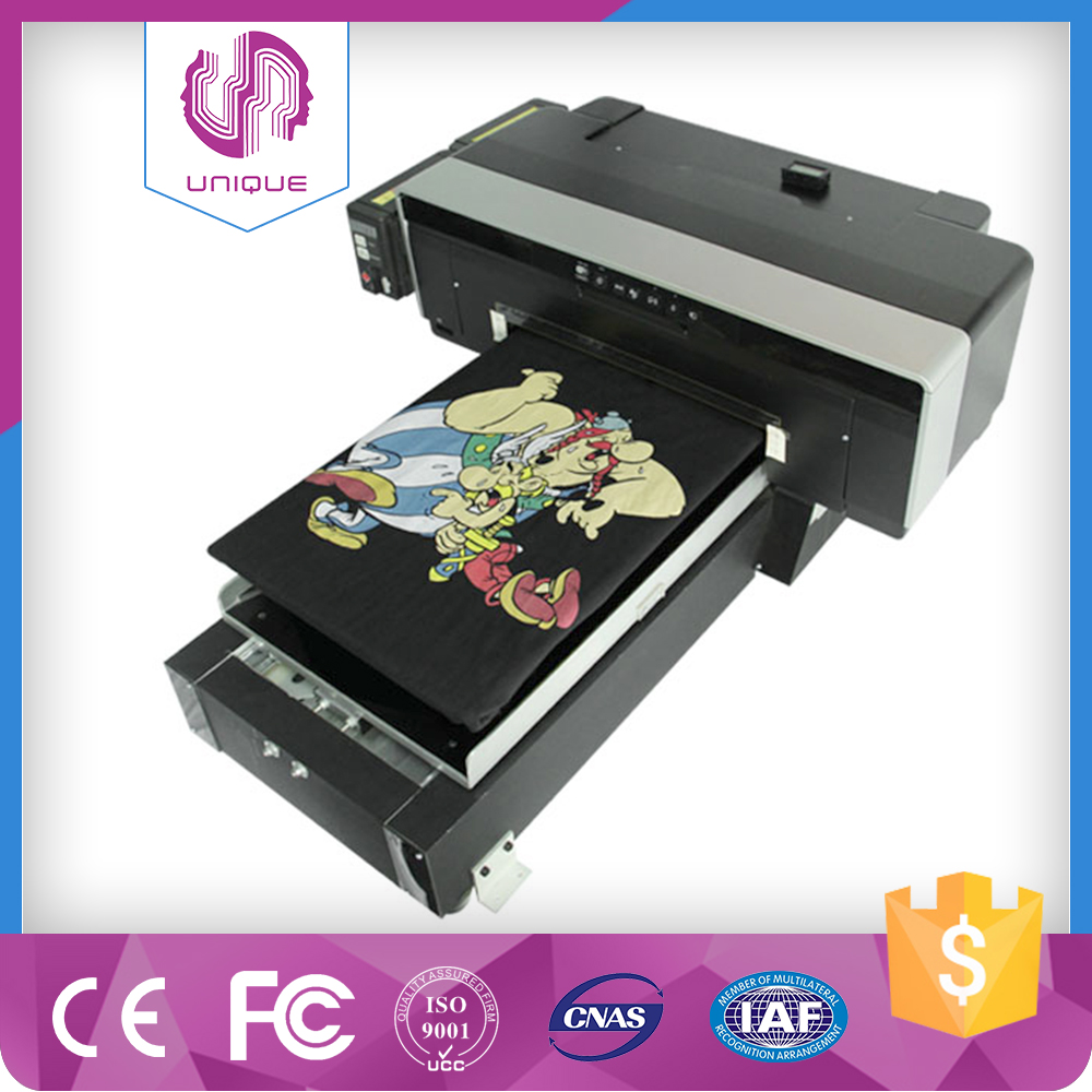 digital flatbed t-shirt printer_Qingdao Unique