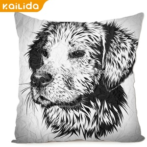 China factory customized logo kantha cushion cover