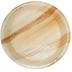 High quality wholesale custom printed palm leaf wooden plate