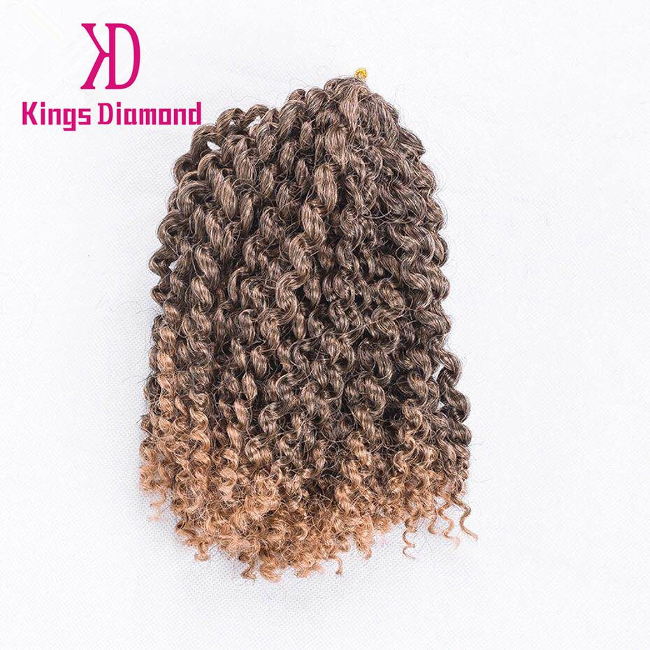 "Afro synthetic fiber Braid Hair Extensions,8""3pcs/ Pack mali bobp Kinky Curly Bulk Twist Crochet Braids"