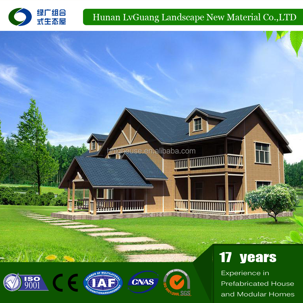 Fashionable Luxury One Floor german prefabricated house