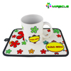 2016 popular kitchen cooking heat resistant sublimation flower pot holder
