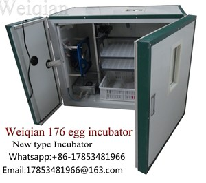 WQ-176 Egg Incubator Hatching Machine/Chicken Poultry Farm Equipment/Automatic Incubator and Hatcher(whatsapp:+86-17853481966)