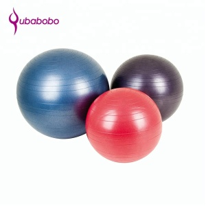 Amazon sells well Eco friendly body building soft yoga anti burst pvc fitness ball with pump