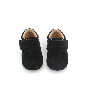 Wholesale Toddler Winter Warm Baby Boots Leather Baby Shoes