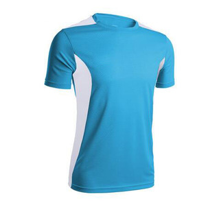 Men Sports Short Sleeve Running T shirts Quick Dry Slim Gym Fitness T shirt Tops