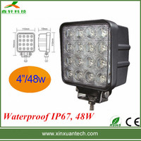 Automotive driving light 12v 48w led work light for car 16psc*3W
