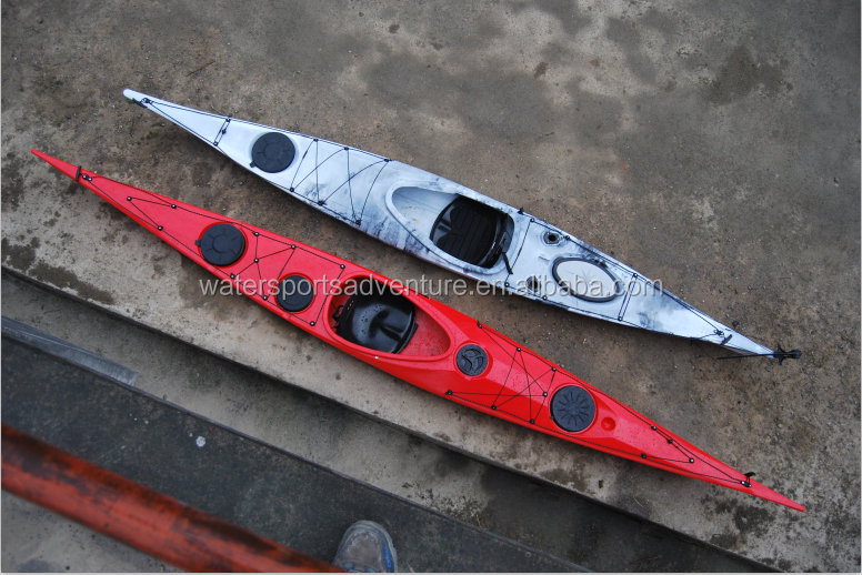 China Manufacturer 5.3M Single Seat Sit In Sea Kayak