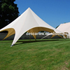 Japan ivory 12m single pole star canopy/star shade tents for large events