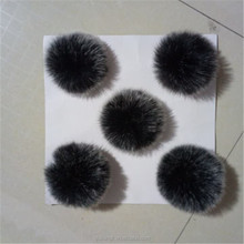 China supplier Wholesale price Faux Fur ball Fake fur pom pom