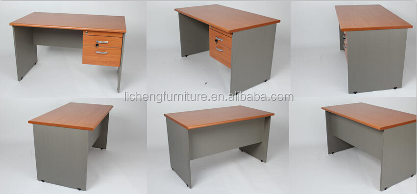 Hot Sale Office Computer Desk With Locked Drawersmdf Office Desk