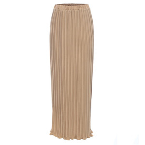 New Arrival Fashion Chiffon Pleated Long Maxi Skirt For Women