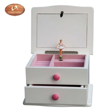 음악 Jewelry Box 및 Ballerina 춤 Jewel keeper Music Box