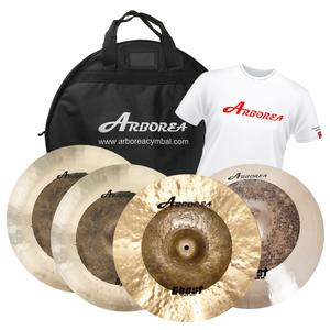 Arborea Ghost Series cymbal set