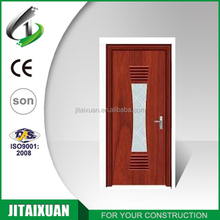 High quality interior PVC door with design or wood pvc glass door design