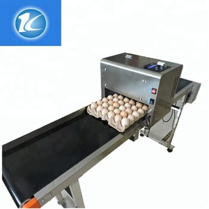 Cooperate with the production line to use the egg printer