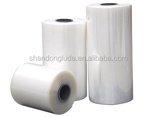 China Luda 2016 best sales black LLDPE packing material stretch film roll
