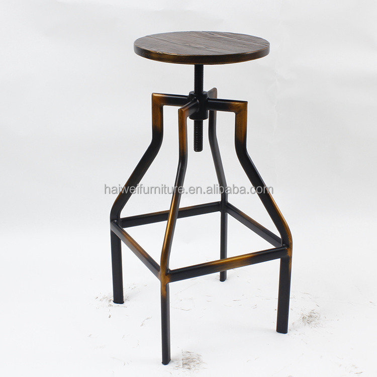 bar stools furniture industrial step stool metal and wood stool