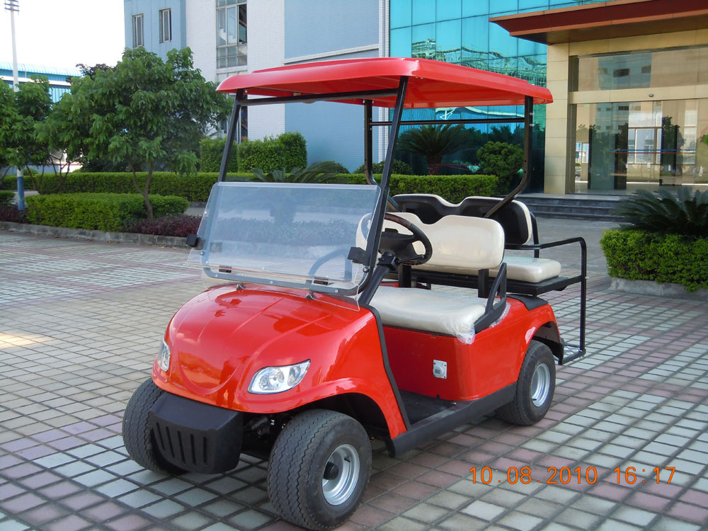 Top quality 4 seats elegant airport electric car for passenger