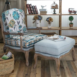 Antique Fabric leisure armchair/lounge chair/arm chair price