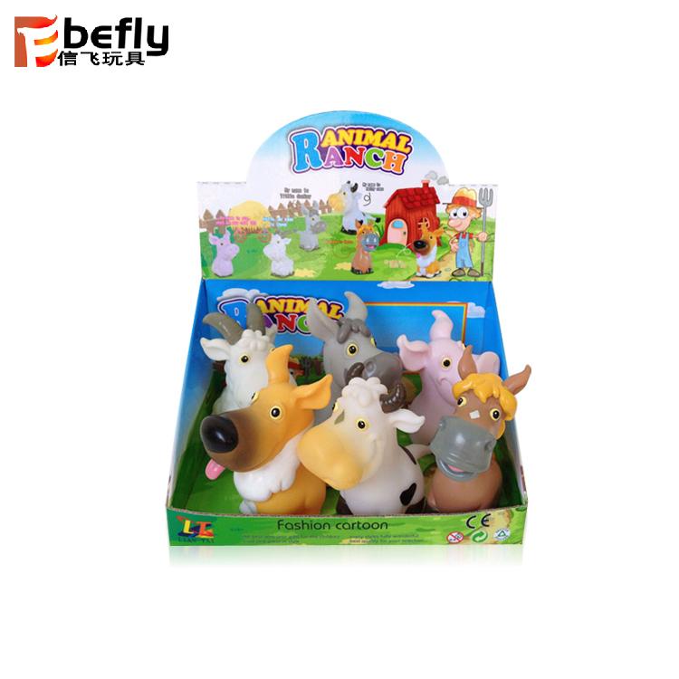 5 Inch Vinyl Toys Soft Toy Farm Animals