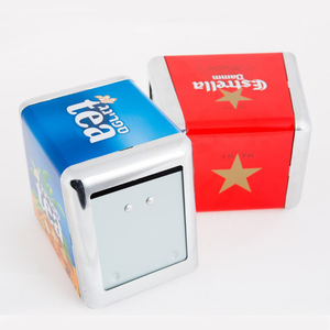 advertising tissue box napkin dispenser for promotion and business gift sets