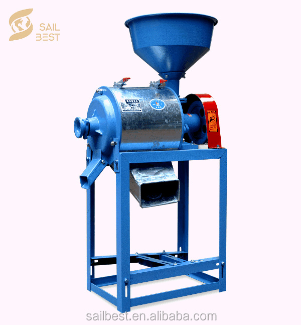 Maize Corn Wheat Fine Power Flour Grinder Spices Powder Making Machine