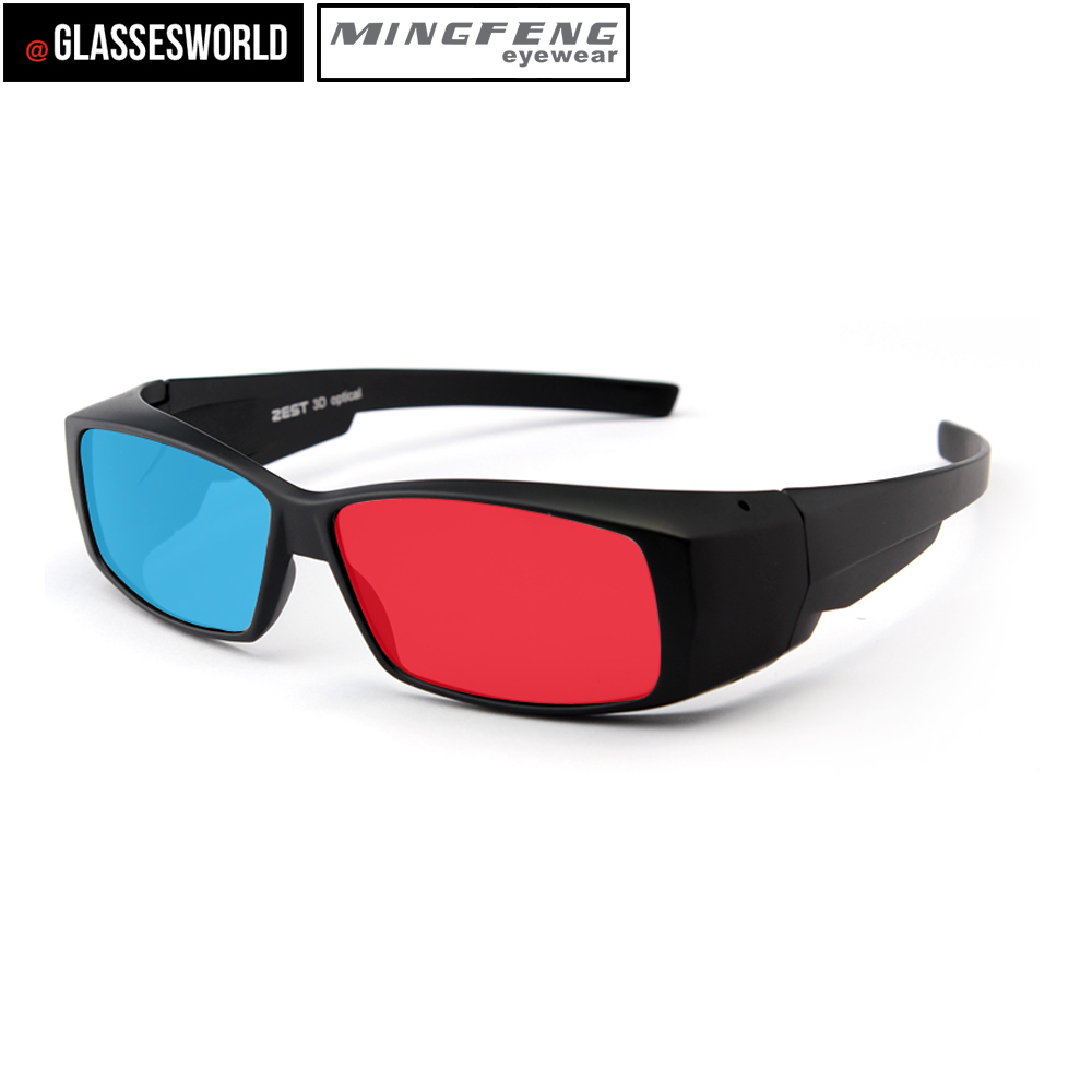 Best polarized red and blue Lens 3D Glasses for LCD Movie <strong>Video</strong>