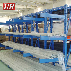 Warehouse Industrial Pipe Shelving Metal Chinese Granite shelf Cantilever Racking System