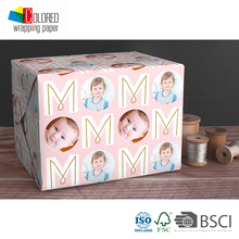 Infant Baby Gift Wrapping Gift Packaging Paper Sheets Customed Printing