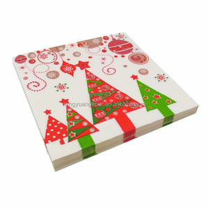 Guaranteed quality custom design christmas paper napkin,party paper napkin