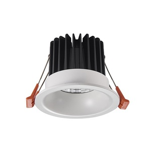 Fast Delivery 12 Watt 4 Inch Round COB LED Downlight Without Plaster Ceiling