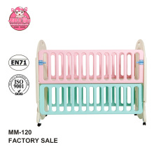 EN standard baby folding travel bed for kids baby park crib